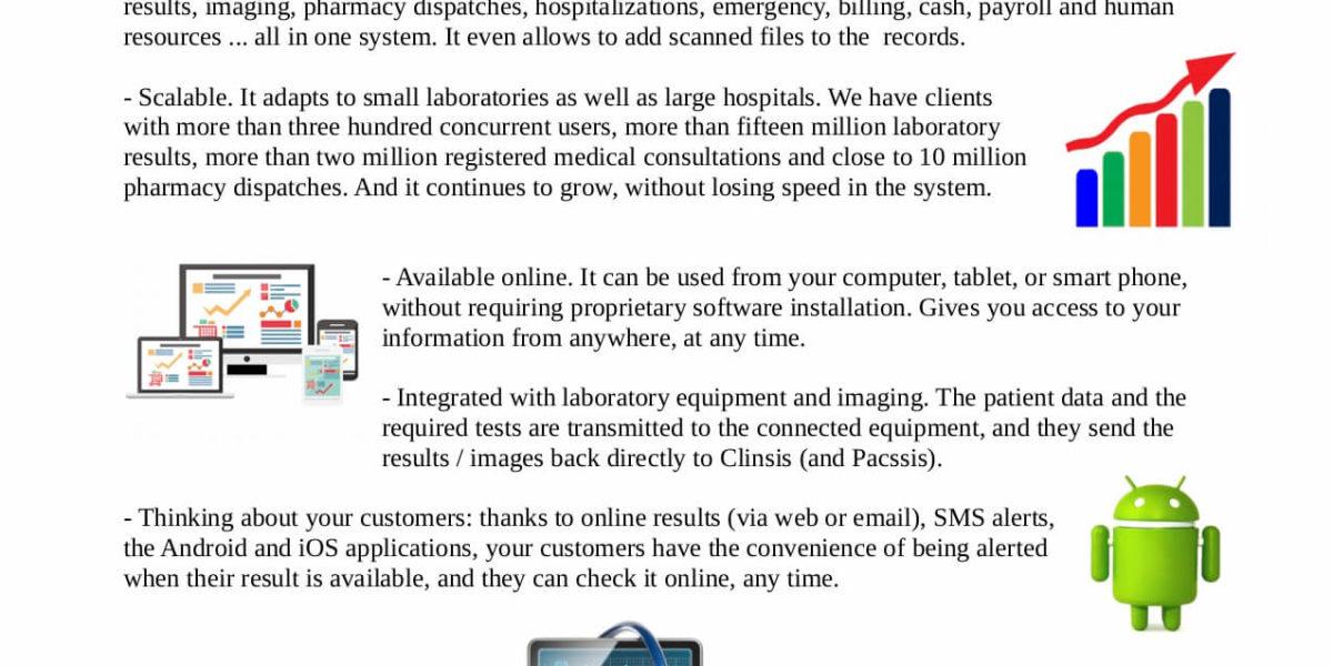 Clinsis – System Data Sheet