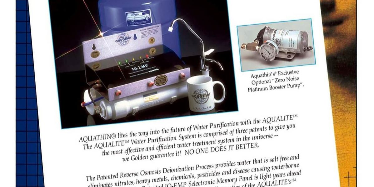 Aqualite RO/DI waterpurificationsystem – Aquathin