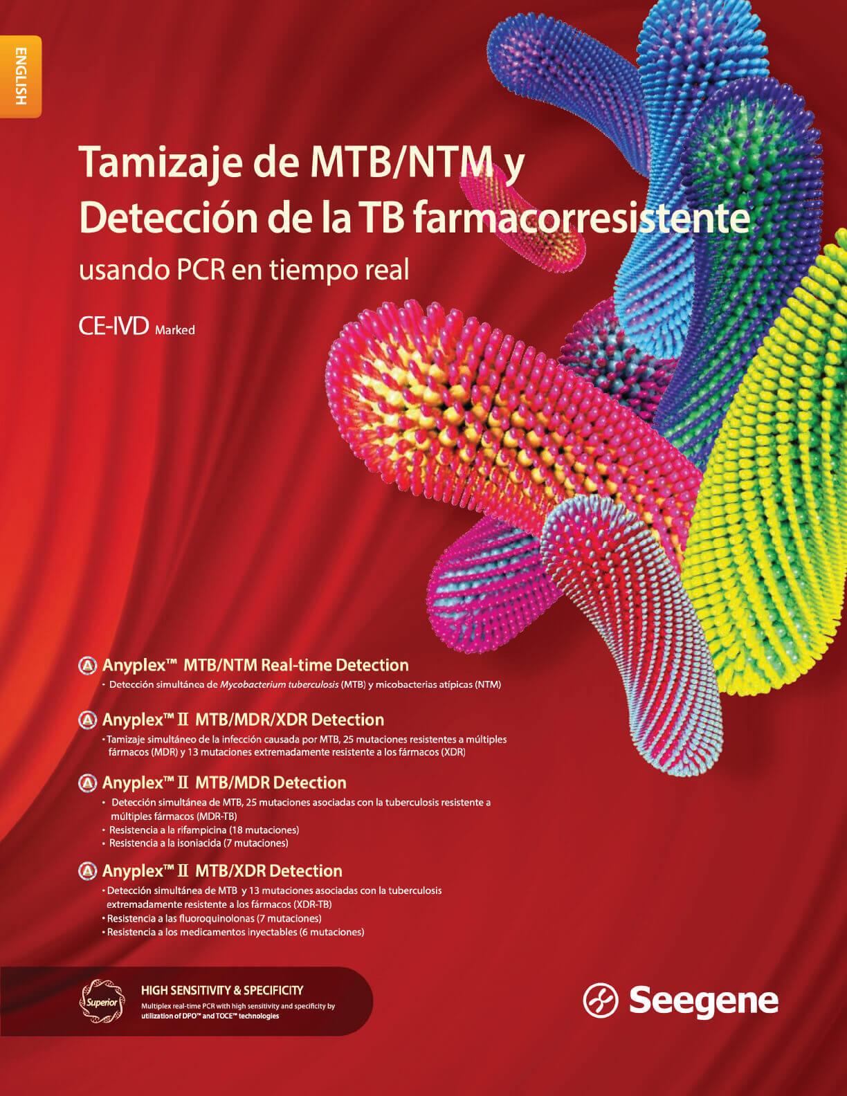 Tamizaje de MTB/NTM y Detección de la TB farmacorresistente